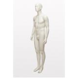 fábrica de manequim corpo inteiro cor prata Imirim
