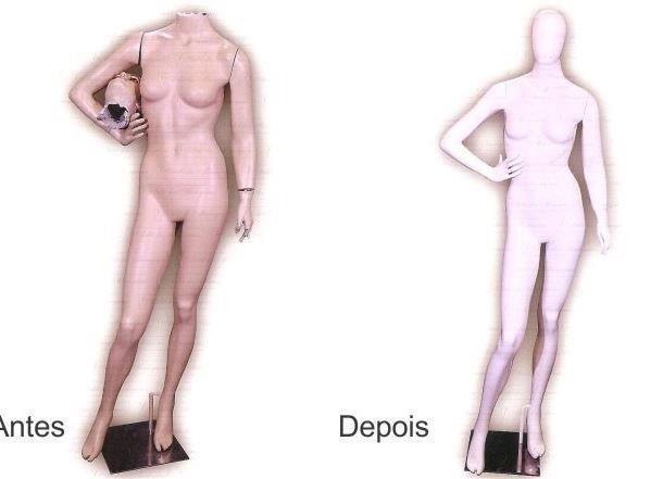 Conserto de manequins em sp