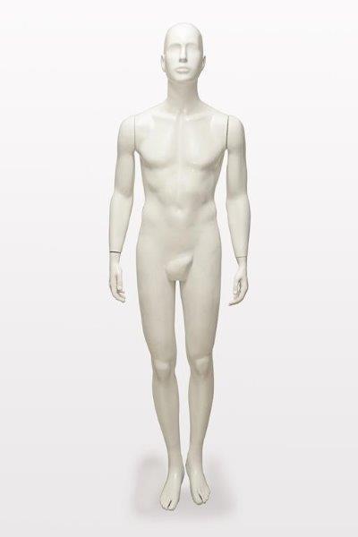 Manequim plus size masculino