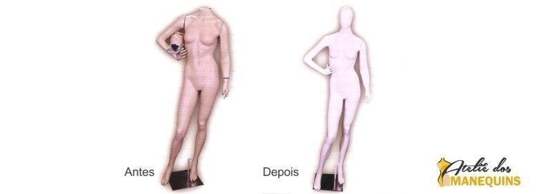 Reforma de manequins sp