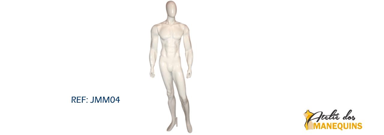 Manequim masculino para locação