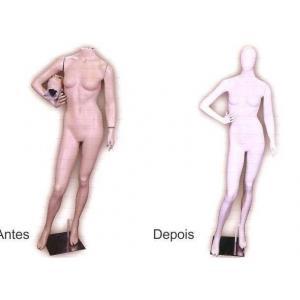 Reforma de manequins